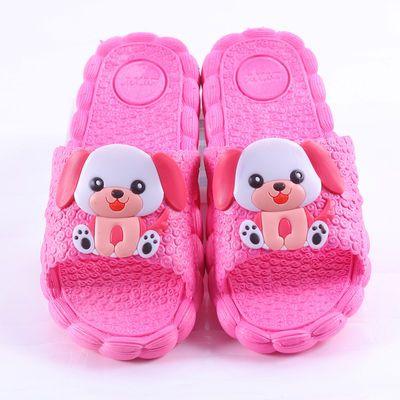 儿童拖鞋夏季男童女童可爱小公主小孩凉拖鞋宝宝室内防滑家用专用