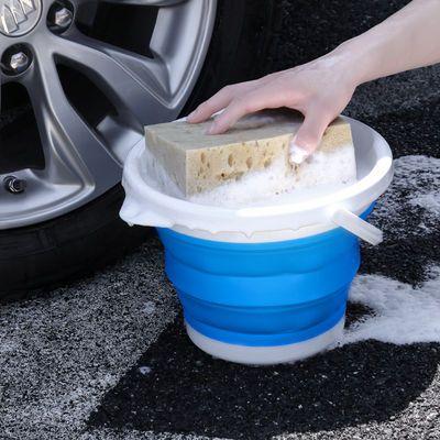 汽车用洗车可折叠水桶车家两用压缩便携式硅胶伸缩旅行户外钓鱼桶