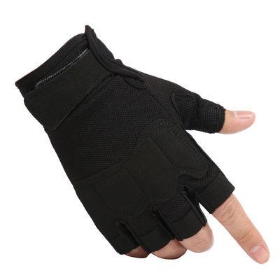 家用战术手套夏半指男士特种兵特兵格斗透气防滑登山骑行户外运动