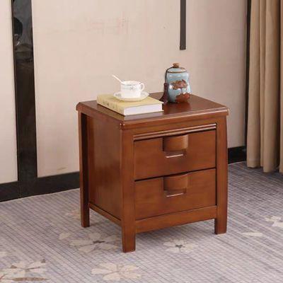 (现货速发)中式实木双人床高箱储物抽屉床简约卧室婚床1.5 1.8