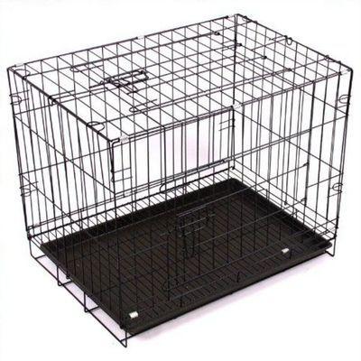 泰迪狗笼子 贵宾比熊等小型犬中型犬狗笼加粗折叠宠物笼猫笼兔笼