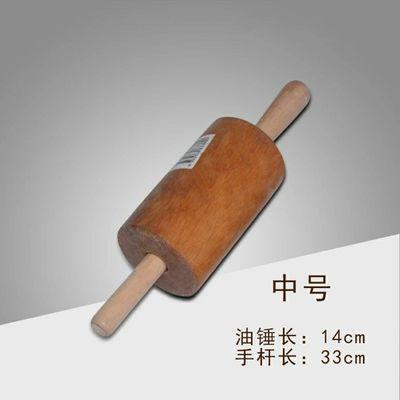 家用压面棍加粗走锤大号擀面杖大码实木烘焙工具油锤做油条饼滚糖