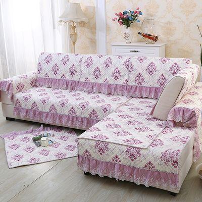 欧式四季通用沙发垫套装沙发巾沙发坐垫布艺防滑全包沙发套罩