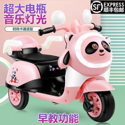 婴幼儿童电动车摩托车宝宝三轮车玩具车男女小孩遥控电瓶童车可坐