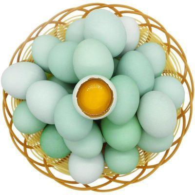 【我老家】绿壳鸡蛋农家散养土鸡蛋新鲜草鸡蛋乌鸡蛋黑羽鸡蛋