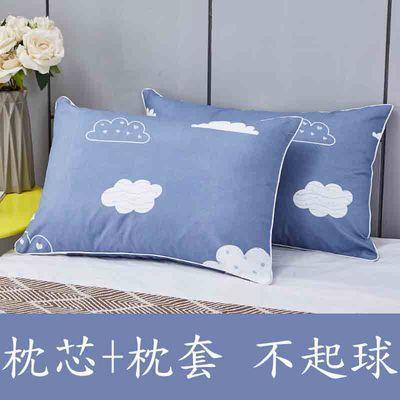 枕头一对装可拆洗枕芯一对双人学生宿舍一个装单人成人可爱枕头芯