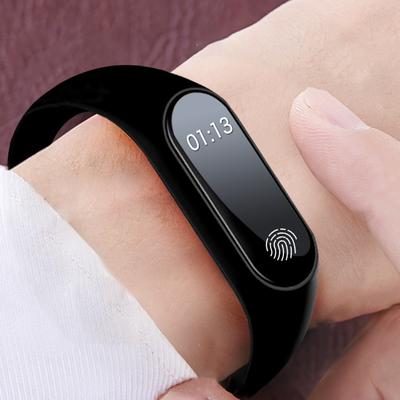 新一代 蓝牙智能手环手表 男女士计步器提醒运动手环闹钟学生手表