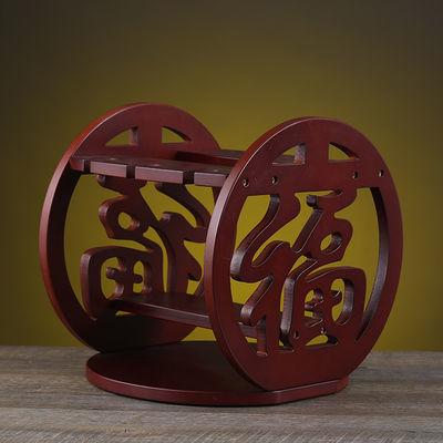 红酒架摆件北欧式创意现代简约实木架子家用客厅吊挂杯架时尚个性