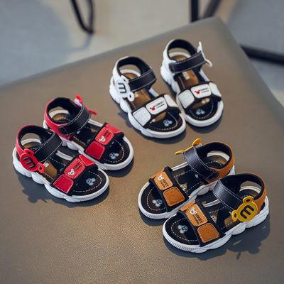 男童凉鞋2020新款儿童凉鞋夏季小孩沙滩鞋女童鞋宝宝凉鞋卡通凉鞋