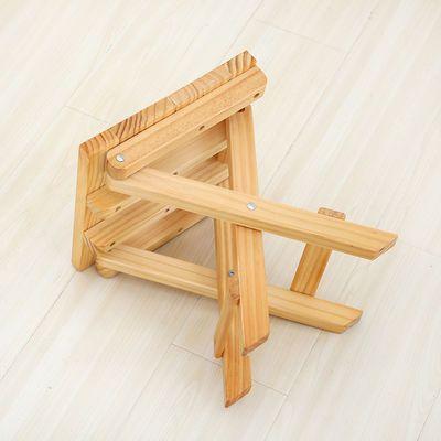 爆款折叠椅子实木马扎凳便携家用小板凳户外钓鱼