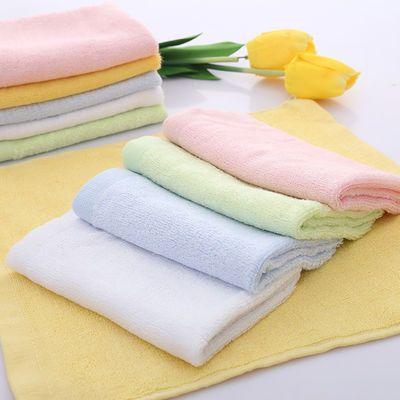 纱布新生婴儿小毛巾纯棉宝宝洗脸巾方巾喂奶多用巾手帕口水巾用品