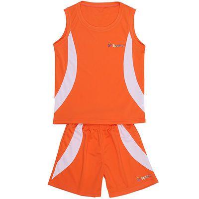 儿童套装运动服女装篮球服薄款男童运动衣夏季运动套装厂家批发@