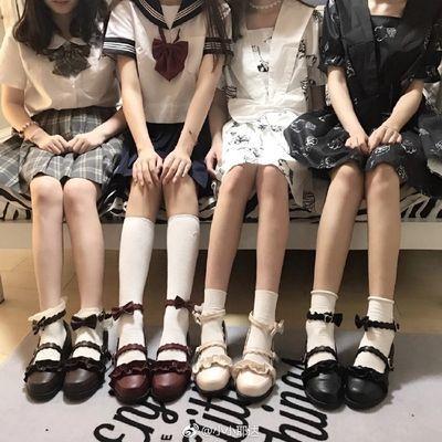 低跟梅露露Lolita鞋日系茶会软妹女学生鞋单鞋女粗跟洛丽塔鞋