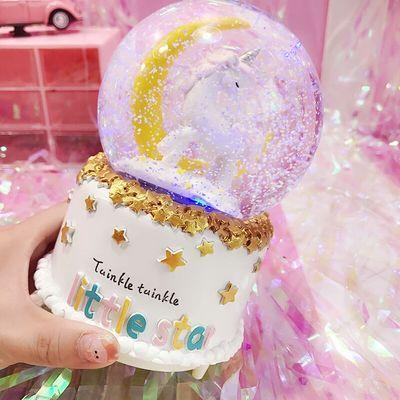 生日礼物水晶球音乐盒女生ins风创意八音盒送孩子送闺蜜节日礼品