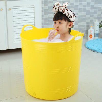 创意宝宝沐浴桶洗澡桶可手提收纳桶洗衣桶脏衣收纳篮儿童澡盆