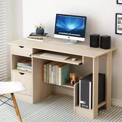 新款电脑桌台式家用卧室小桌子简约现代经济型写字书桌简易学习办