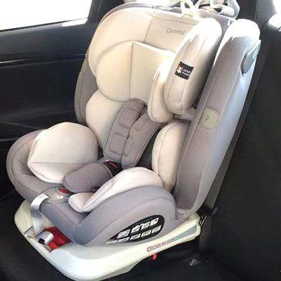 家用儿童安全座椅汽车用360度旋转婴儿宝宝车载0-12岁新生儿ISO可