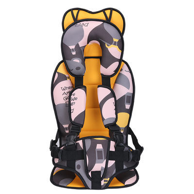 家用简易儿童安全座椅汽车用婴儿便携式车载座椅宝宝安全背带0-12