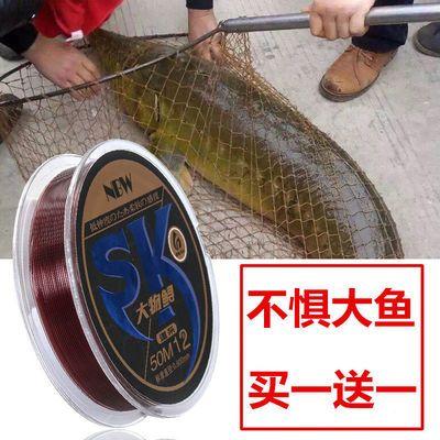 鱼线主线 正品大物线巨物鲟鱼青鱼线子线强拉力耐磨尼龙线超柔软