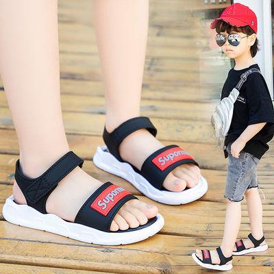 1-3-7-12岁儿童时尚凉鞋男童户外防滑大中小童夏季新款时尚魔术贴