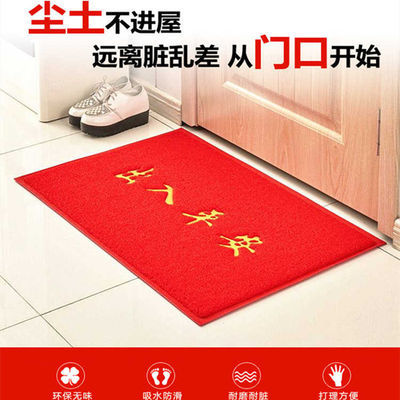 入户进门防滑地毯地垫门垫客厅大门口脚垫浴室垫子特厚PVC防滑垫