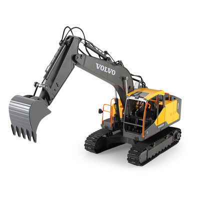 热销双鹰儿童电动遥控挖掘机沃尔沃仿真挖机挖土机模型充电工程车