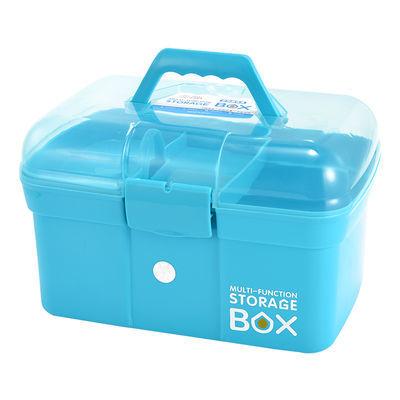 婴儿药箱家用大号医药箱储物收纳盒儿童医疗多功能家庭小塑料药盒