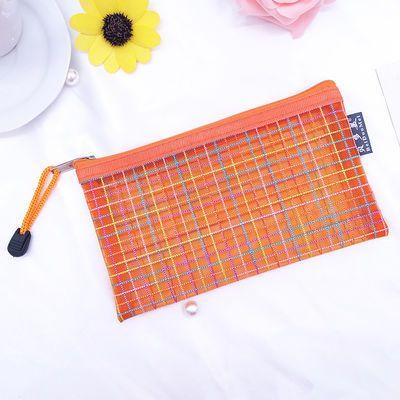 A6笔袋零钱袋透明韩国简约男女生清新可爱大容量小学初中生文具袋