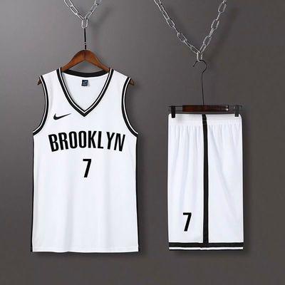 篮球服套装定制欧文球衣男女学生篮球背心比赛训练服透气吸汗速干