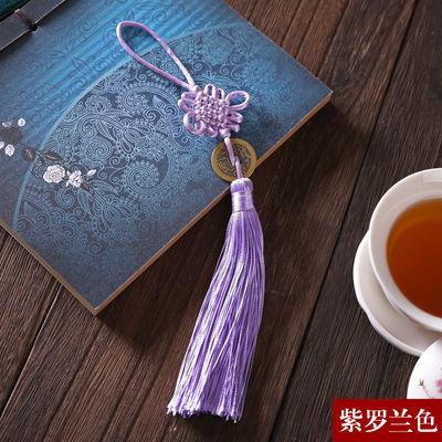 买一送一开光铜钱6盘中国结挂件中国风小装饰方胜结挂饰平安结