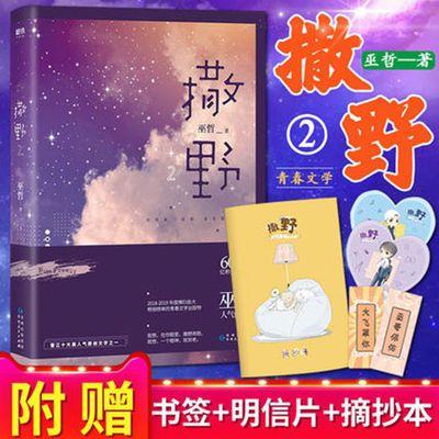 -撒野2小说巫哲小说新书撒野2正版励志校园纯爱青春小说文学畅销