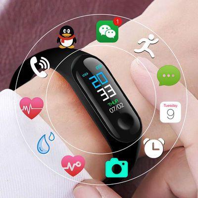 新一代 多功能智能手环 韩版学生运动表 触屏闹钟电子表 男士手表