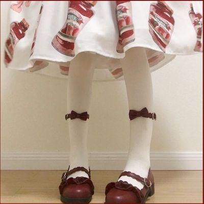 Lolita鞋低跟梅露露日系茶会软妹圆头女学生鞋单鞋女洛丽塔鞋子女