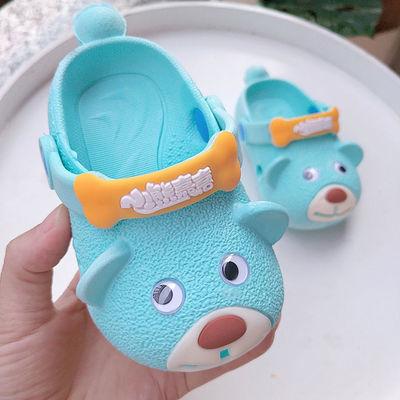 宝宝拖鞋男夏1-4岁洞洞鞋儿童女软底防滑学步鞋小孩拖鞋凉鞋外穿