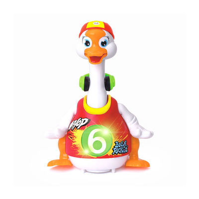 汇乐828摇摆鹅抖音同款网红动物会唱歌跳舞鸭子9个月宝宝益智玩具