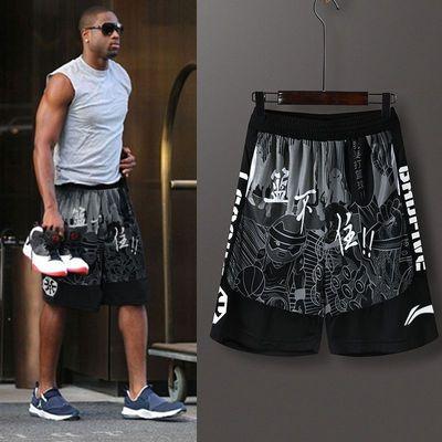韦德运动短裤男篮球裤女嘻哈潮流球星同款裤子学生运动跑步之道8
