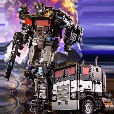 热销奥意变形玩具金刚SS38暗黑擎天柱合金汽车机器人模型男孩儿童