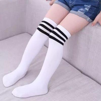 学生长筒袜过膝春秋夏男女童宝宝打底袜中高筒足球袜薄款儿童腿袜