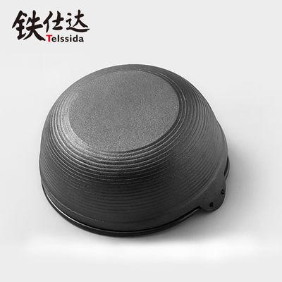 日式铸铁汤锅寿喜锅无涂层炖锅加厚生铁炖肉锅不粘锅煲汤锅火锅具