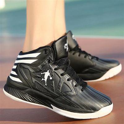 篮球鞋男鞋冬防滑韦德之道3篮高帮球鞋学生战靴耐磨透气减震球鞋
