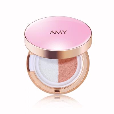 Amy/安美气垫BB霜裸妆遮瑕强隔离保湿持久提亮肤色水光cc霜粉底液