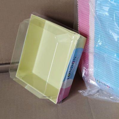 爆款透明天地盖三明治盒热狗盒一次性长方正方班戟盒西点蛋糕打包
