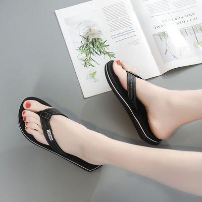 夏季新款百搭人字拖女外穿韩版平底防滑凉拖拖鞋学生女士时尚网红