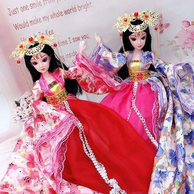 30厘米古代芭比公主衣服换装芭比娃娃古装服饰品女孩过家家玩具