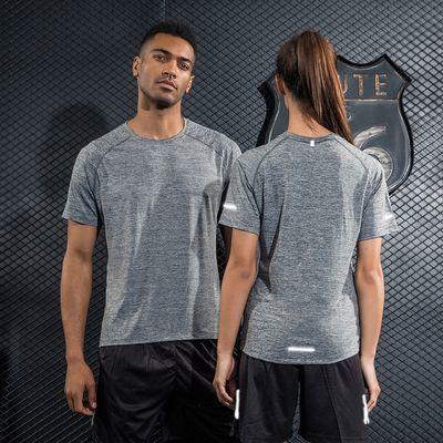 速干t恤男女短袖夏季运动情侣宽松薄款透气健身服休闲吸汗跑步衣