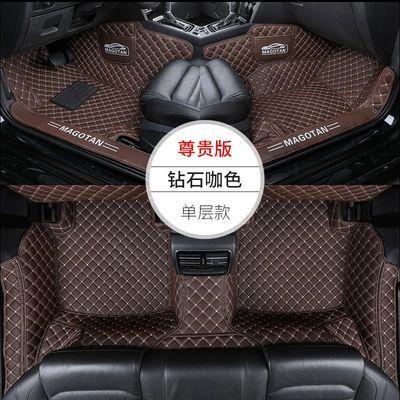 专用于大众迈腾脚垫全包围19款新迈腾B8双层地毯脚垫汽车改装饰B7