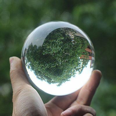 -透明水晶球玻璃球摆件摄影拍照道具魔术杂技表演创意家居风水摆