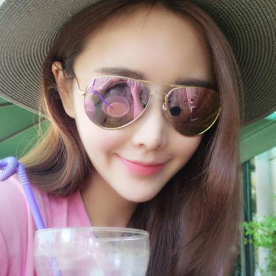太阳镜女2020新款防紫外线大框时尚眼镜大脸显瘦墨镜男女士眼镜