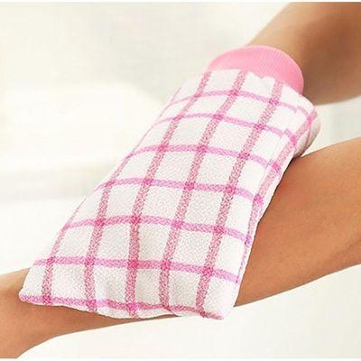 彩色方格沐浴手套韩国洗澡巾去泥不伤肤加厚双面搓澡巾