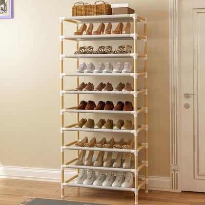 实木鞋架子简易多层家用鞋柜可拆装收纳神器大小号宿舍多功能特价